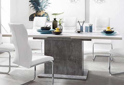 FORTE Valgomojo stalas plotis 160-200 cm