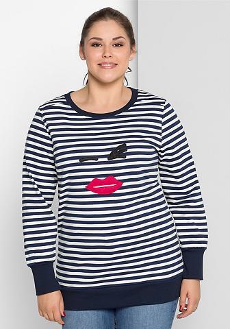 SHEEGOTIT Sheego Sportinio stiliaus megztinis