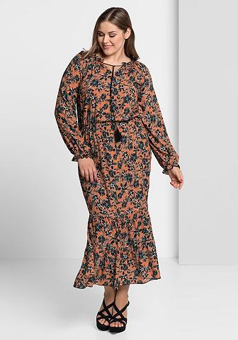 ANNA SCHOLZ FOR SHEEGO Ilga suknelė