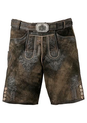 HAMMERSCHMID Odinės tautinio stiliaus kelnės trumpa...