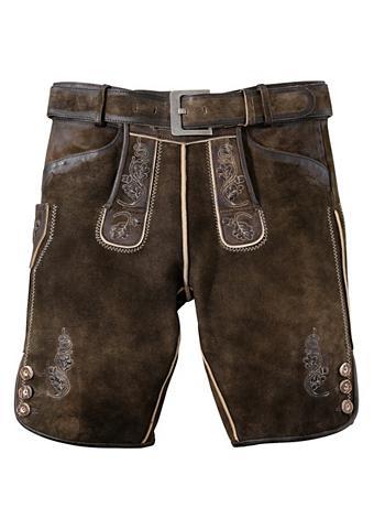 COUNTRY LINE Odinės tautinio stiliaus kelnės trumpa...