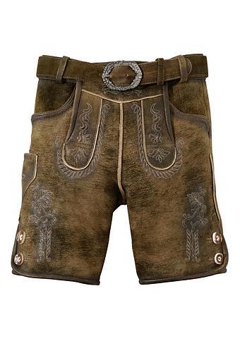 HAMMERSCHMID Odinės tautinio stiliaus kelnės Vaikiš...
