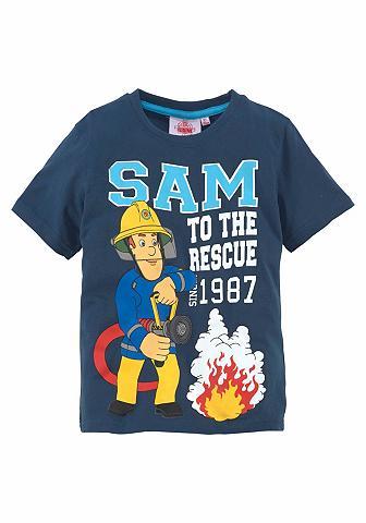 FEUERWEHRMANN SAM Marškinėliai »SAM TO THE RESCUE«