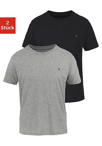REPLAY Marškinėliai su Crew Neck (2 vienetai)...