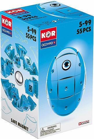 GEOMAG ? Kubeliai (55-tlg.) »KOR Egg Blue«