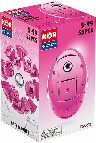 GEOMAG ? Kubeliai (55-tlg.) »KOR Egg Pink«