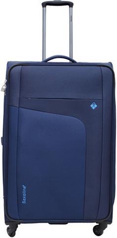 SAXOLINE Medžiaginis lagaminas ant ratukų su 4 ...