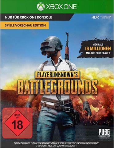 XBOX ONE Playerunknown's Battleground Game Prev...
