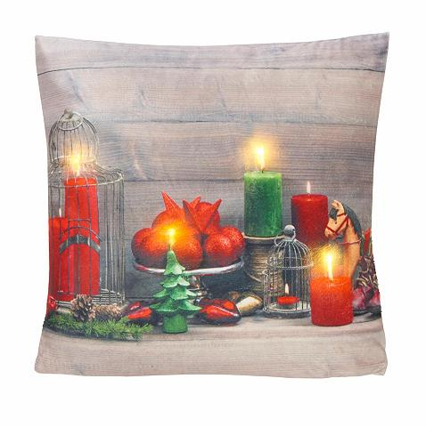 LED-pagalvės užvalkalas »Santa« (1 vie...