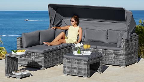 KONIFERA Sodo sofa-lova »Atlanta« Polyrattan gr...