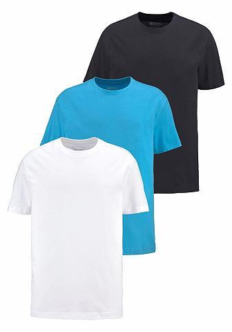 MAN'S WORLD Marškinėliai (Rinkinys 3er-Pack)