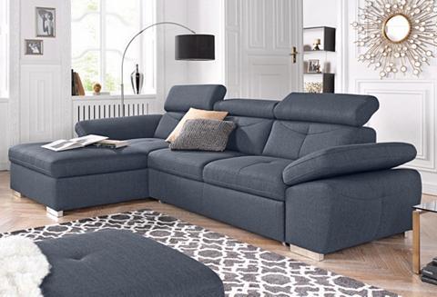 exxpo - sofa fashion Ecksofa patogi su miegojimo funkcija
