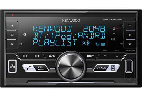 KENWOOD 2-DIN Digital Media Imtuvas su BLUETOO...