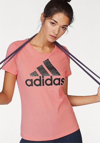 ADIDAS PERFORMANCE Marškinėliai »FOIL TEXT BOS«