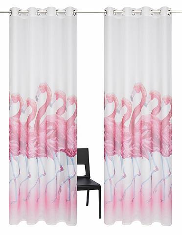 Užuolaida »Flamingo« su Ösen (2 vienet...