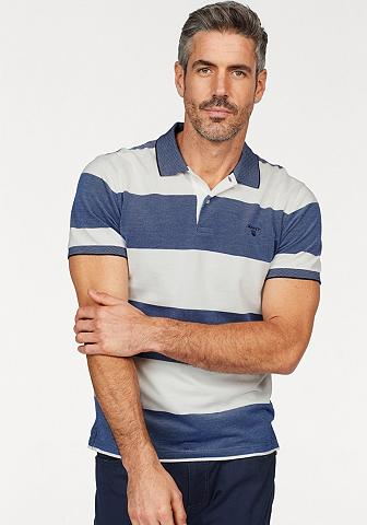 GANT Polo marškinėliai »Oxford dryžuotas Ru...