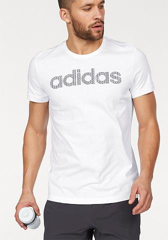 ADIDAS PERFORMANCE Marškinėliai »LINEAR KNITTED«