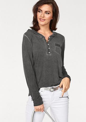 Marškinėliai su gobtuvu »mit Pailetten...