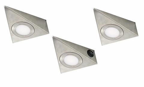 EVOTEC LED spintelės apšvietimas 3vnt. rinkin...