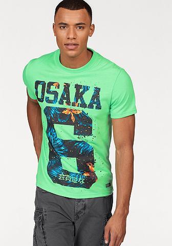 SUPERDRY Marškinėliai »OSAKA HIBISCUS INFILL TE...
