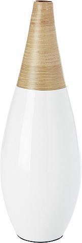 ANDAS Vaza »White Bamboo« in 3 dydžiai