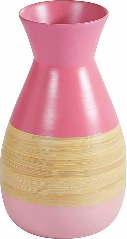 ANDAS Vaza »Pink Bamboo« aukštis 36 5 cm