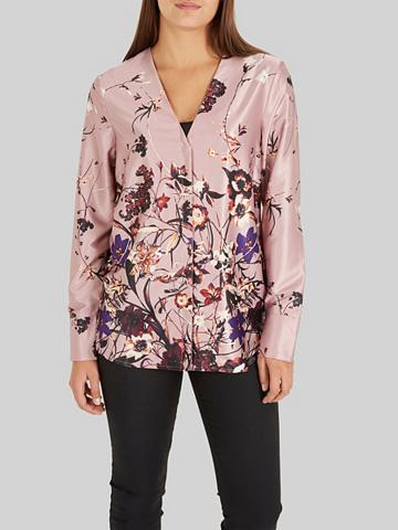 Y.A.S Blumen-Satin- Marškiniai