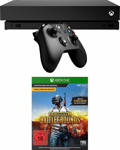 MICROSOFT Xbox One X (Bundle ir Playerunknown's ...