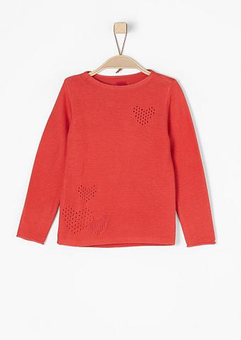 Megztinis su Herzen dėl Mädchen
