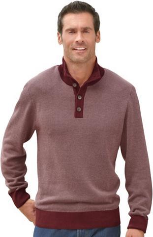 Megztinis in dviejų spalvų derinys