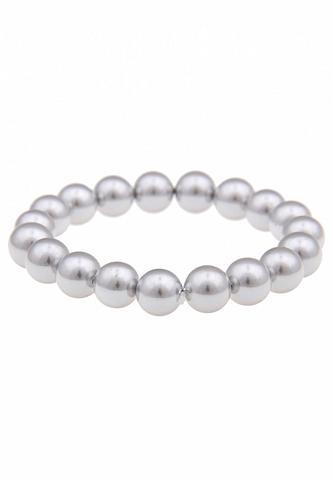 LESLII Perlen-Armband su Gummifädelung