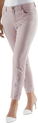 LADY 7/8 ilgio kelnės iš elastingas Jeans-Q...