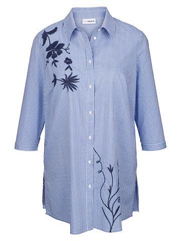 MIAMODA Ilgi marškiniai su siuvinėjimas