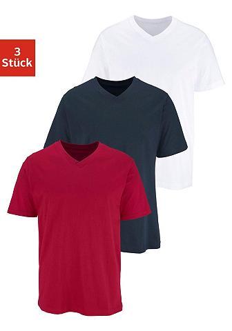 Marškinėliai su su V formos iškirpte (...