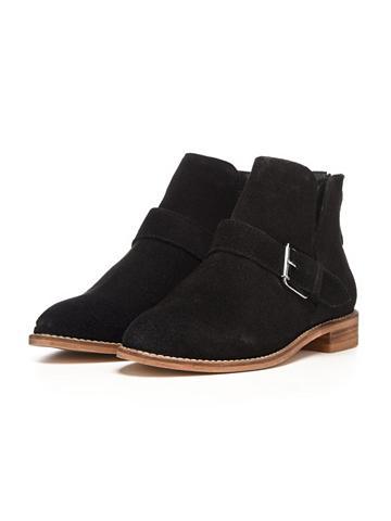 V-Cut-Wildleder- Ilgaauliai batai