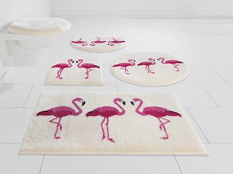 GRUND exklusiv Badematte »Flamingos« aukštis 20 mm ru...