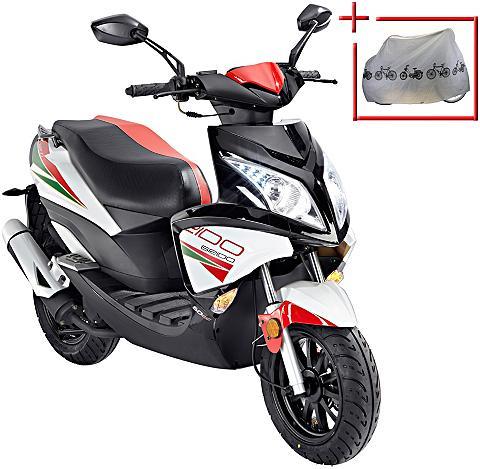 GT UNION Mopedas »Force« 50 ccm 25 km/h entdros...