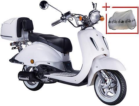 Mopedas »Strada« 50 ccm 25km/h weiß-sc...