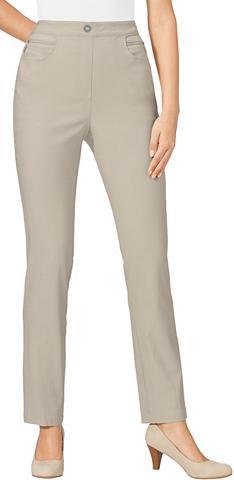 CLASSIC BASICS Kelnės su Zier-Reißverschlussblende
