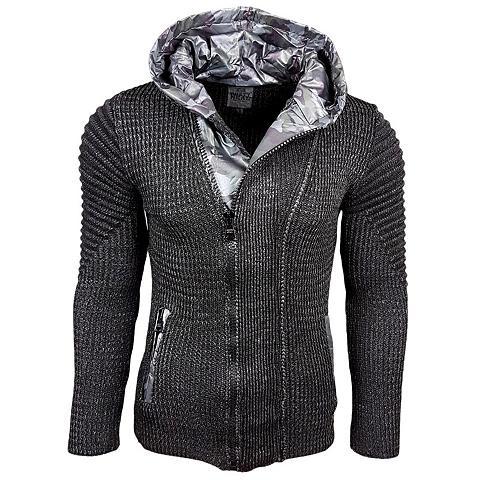 RUSTY NEAL Megztinis su asimetriškas Užtrauktukas...