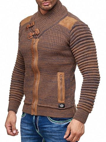 RUSTY NEAL Megztinis su auffälligem apykaklė