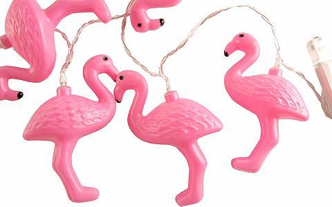 HOME AFFAIRE LED girlianda »Flamingos pink«