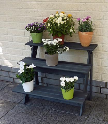 PROMADINO Gėlių lentynos »Anja« Bx Tx H: 78x55x6...