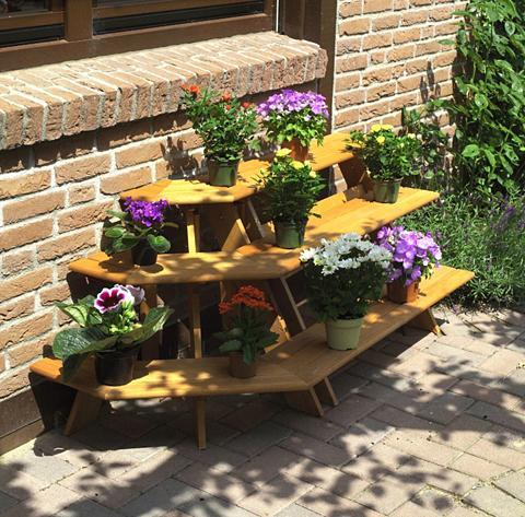 PROMADINO Gėlių lentynos su kampinis elementas B...