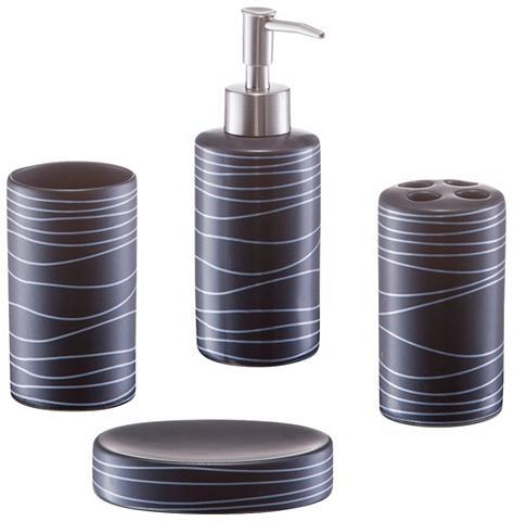 ZELLER Vonios priedų rinkinys 4 dalys