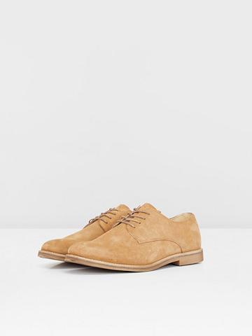 BIANCO Herren-Wildleder Derby-Schuhe