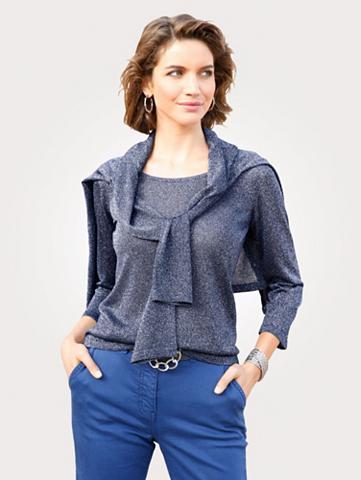 MONA Megztinis iš schimmerndem Glanzgarn