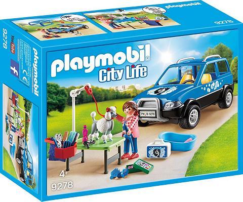 PLAYMOBIL ® Mobiler Hundesalon (9278) »City Life...