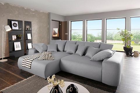 HOME AFFAIRE Kampinė sofa »Sundance« patogi su mieg...