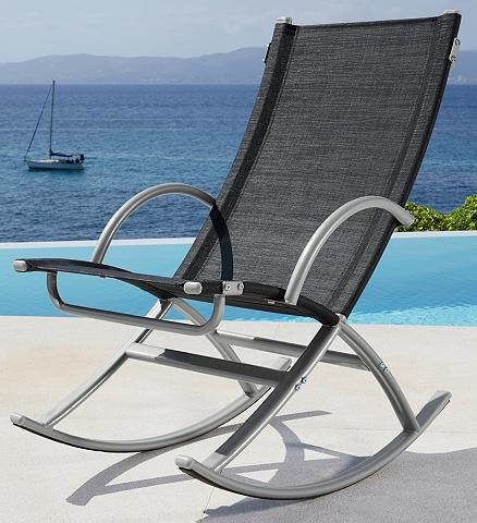 MERXX Poilsio kėdė »Lima« Textil silber
